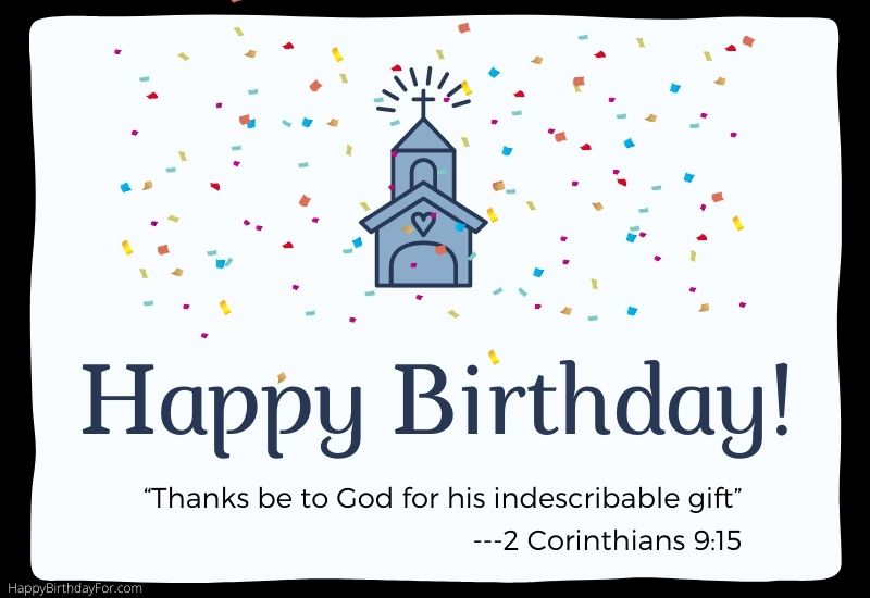 Religious Happy Birthday Wishes for a friend messages