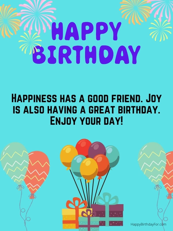 Short Birthday Wishes For A Friends