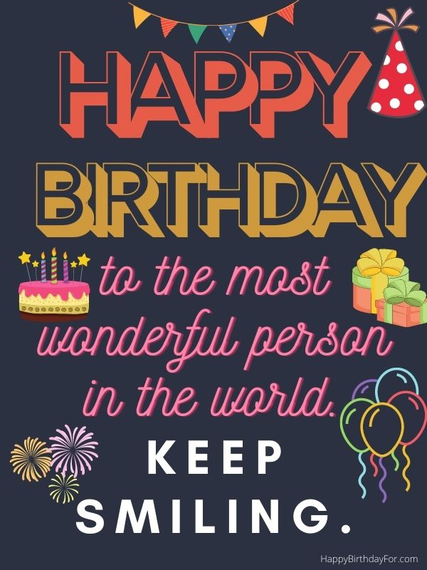 Happy Birthday Wishes for Friends on Whatsapp status image