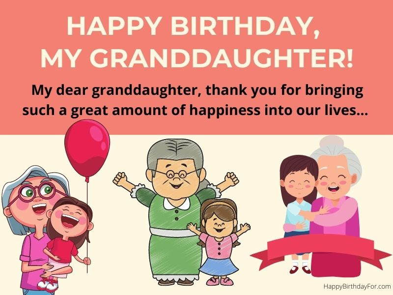 100 Birthday Wishes And Messages For YOur Granddaughter That Makes Special