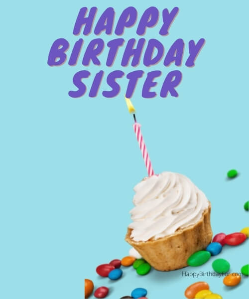 Happy Birthday Greeting Cards For Sister
