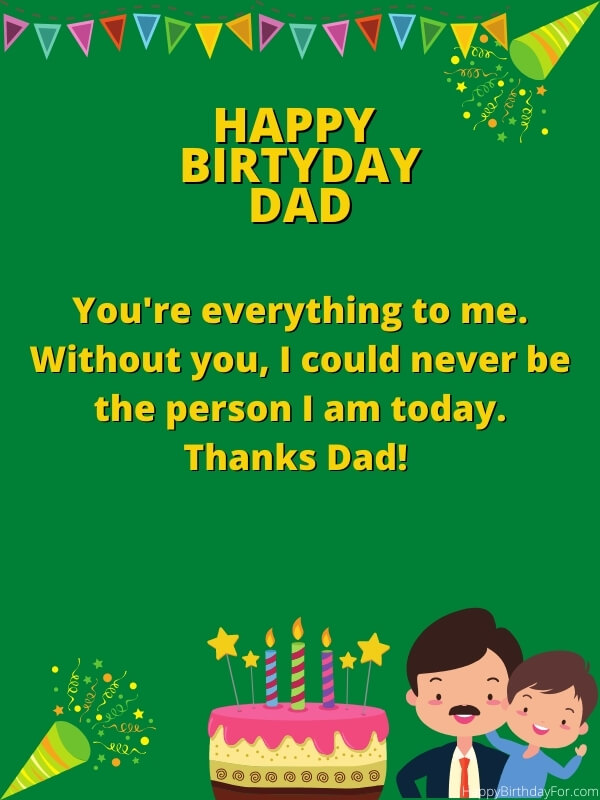 Birthday Wishes And Messages For My Dad