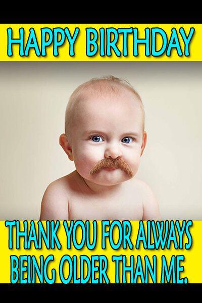 Happy Birthday Meme Baby