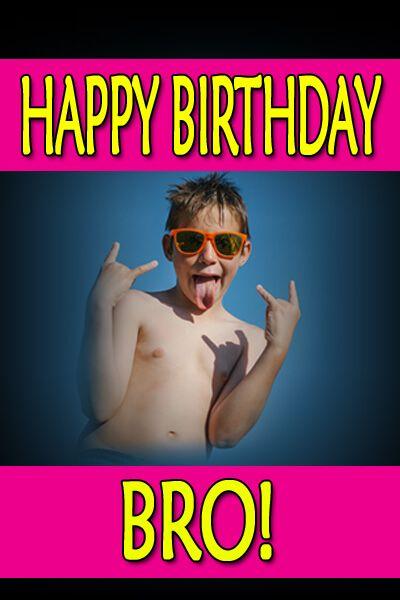 Happy Birthday Meme Bro Kid