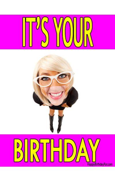 Happy Birthday Meme Girl