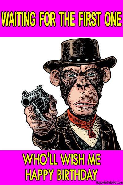 Happy Birthday Meme Monkey