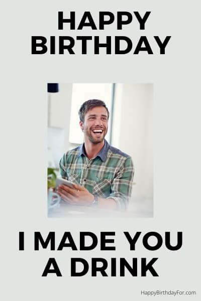 Happy Birthday Meme drin