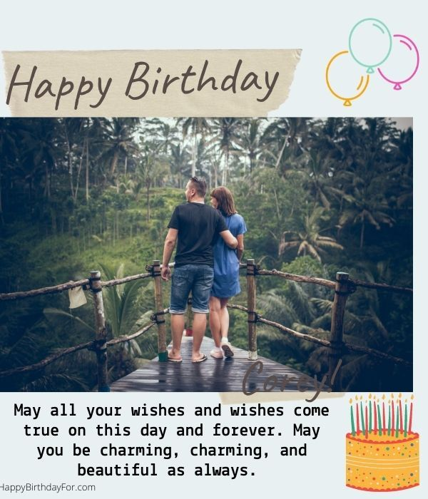 99 Romantic Birthday Wishes For Girlfriend That Makes Her Feeling So Special