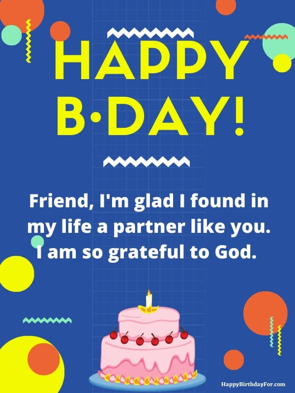Happy birthday wishes for a special friend--