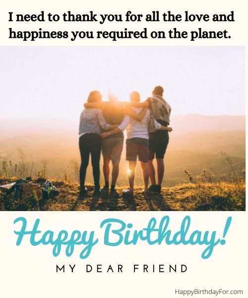 Happy birthday wishes for a special friend Image
