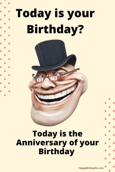 Happy funny Birthday Meme