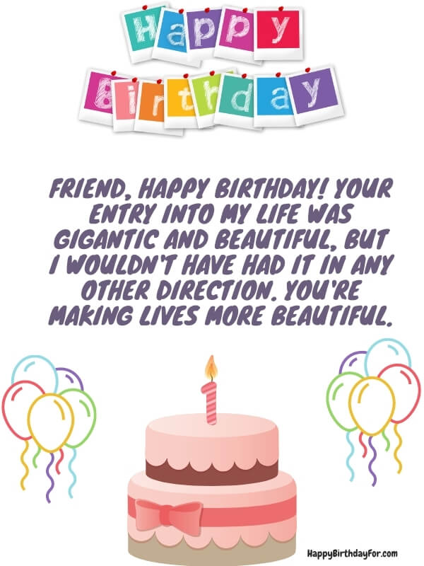 Birthday Wishes For Your Friend